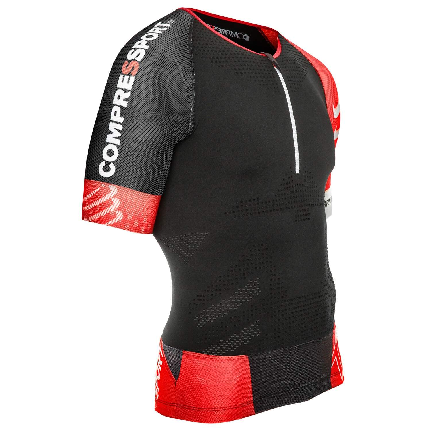 T-Shirt de compressão Compressport Tr3 Aero Tank Triathlon